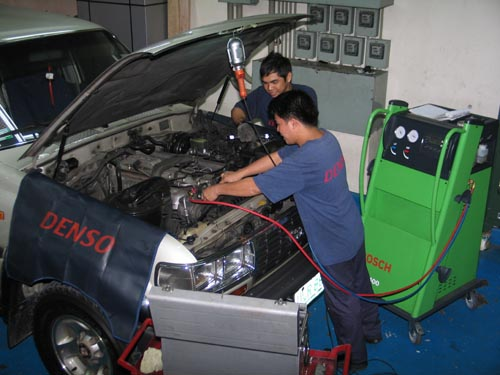 service ac mobil di surabaya
